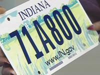 Indiana plate